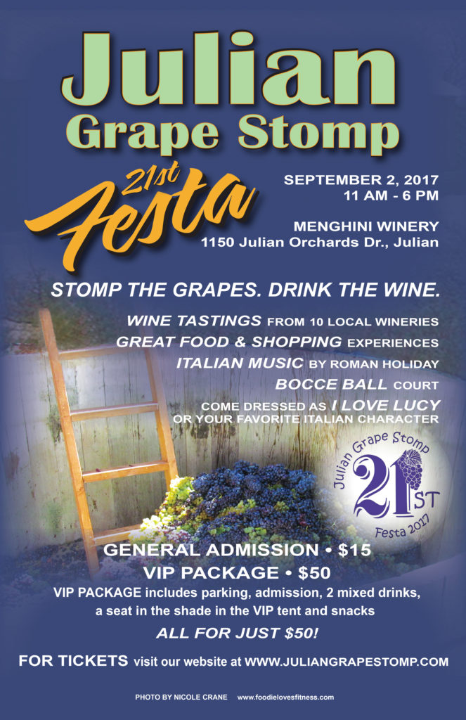 Julian Grape Stomp Festa